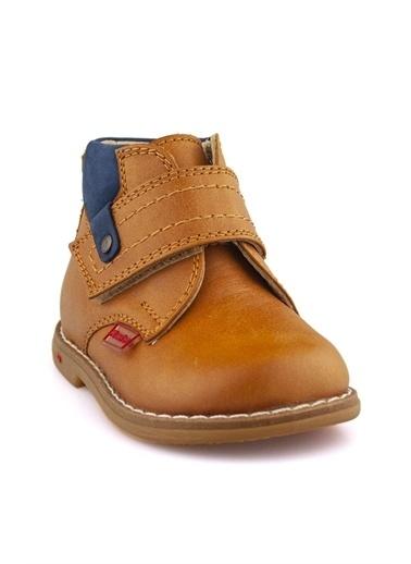 Cici Bebe Ayakkabı Nubuk Erkek Çocuk Bot Taba